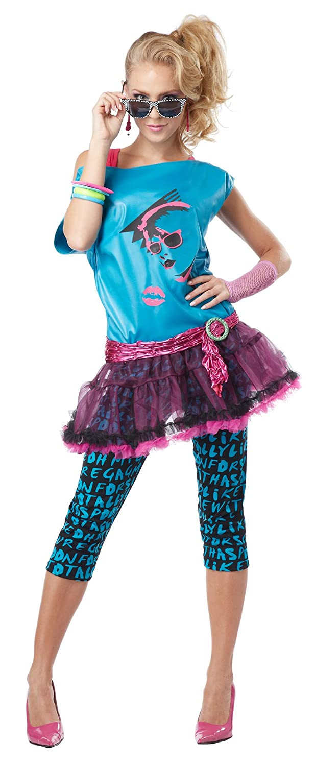 Amazon.com: California Costumes Women\'s Valley Girl Costume: Clothing