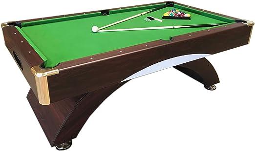 Mesa de billar juegos de billar pool 7 ft ANNIBALE VERDE Carambola Medición de 188 x 94 cm Nuevo Embalado Disponible: Amazon.es: Deportes y aire libre