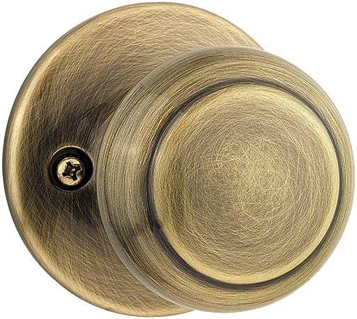 Kwikset Tylo Half-Dummy Knob in Antique Brass