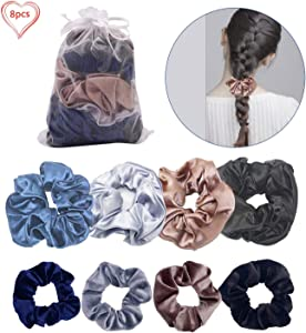 Win A Free 8 Packs Hair Scrunchies Accessories