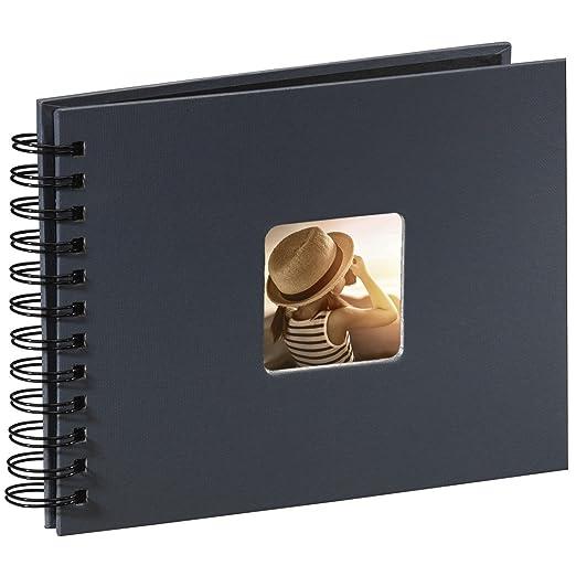 400 opinioni per Hama Fine Art Album Fotografico a Spirale, 50 Pagine, 24 x 17 cm, colore grigio