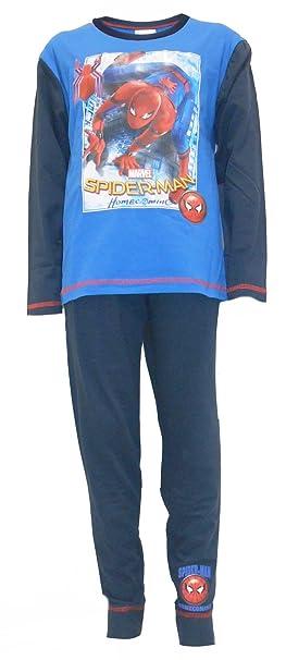 Marvel Spiderman Homecoming Pijamas de algodón para niños 5-6 años (116cm)