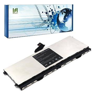 HASESS Alta Capacidad Batería Portátil de Ordenador Portatil para Dell XPS 15z, L511Z, 0HTR7 0NMV5C NMV5C 075WY2 Li-Polímero 14.8V 5200mAh/64W 8 celdas: ...