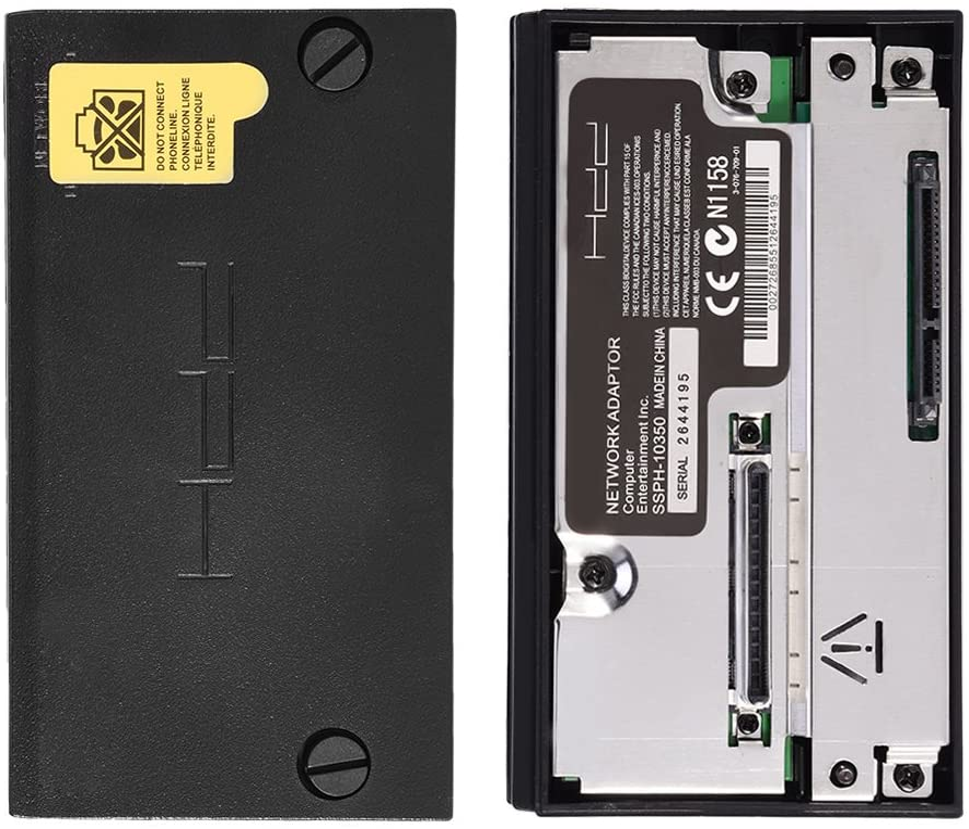 Yosoo Health Gear SATA Interface Network Adaptor HDD Connector Plug Socket for Sony PS2 Playstation 2 No IDE