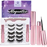 Magnetic Eyelashes with Eyeliner - Magnetic Eyeliner and Magnetic Eyelash Kit - Eyelashes With Natural Look - Comes With…