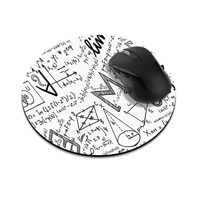 Amazon Com Non Slip Round Mousepad Fincibo Math Equations