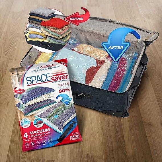 Amazon.com: Spacesaver Premium Bolsas de almacenamiento al ...