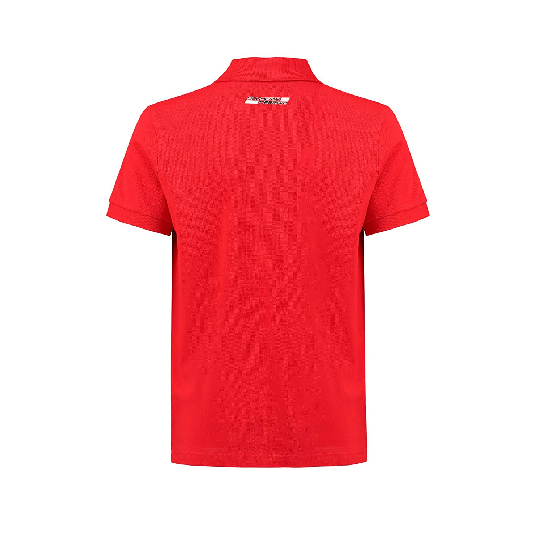 Red 92 2018 1-2yr Ferrari Scuderia Kids Classic Polo Shirt