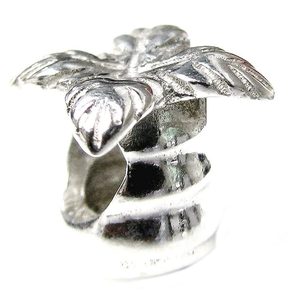 Sterling Silver Palm Tree European Style Bead Charm