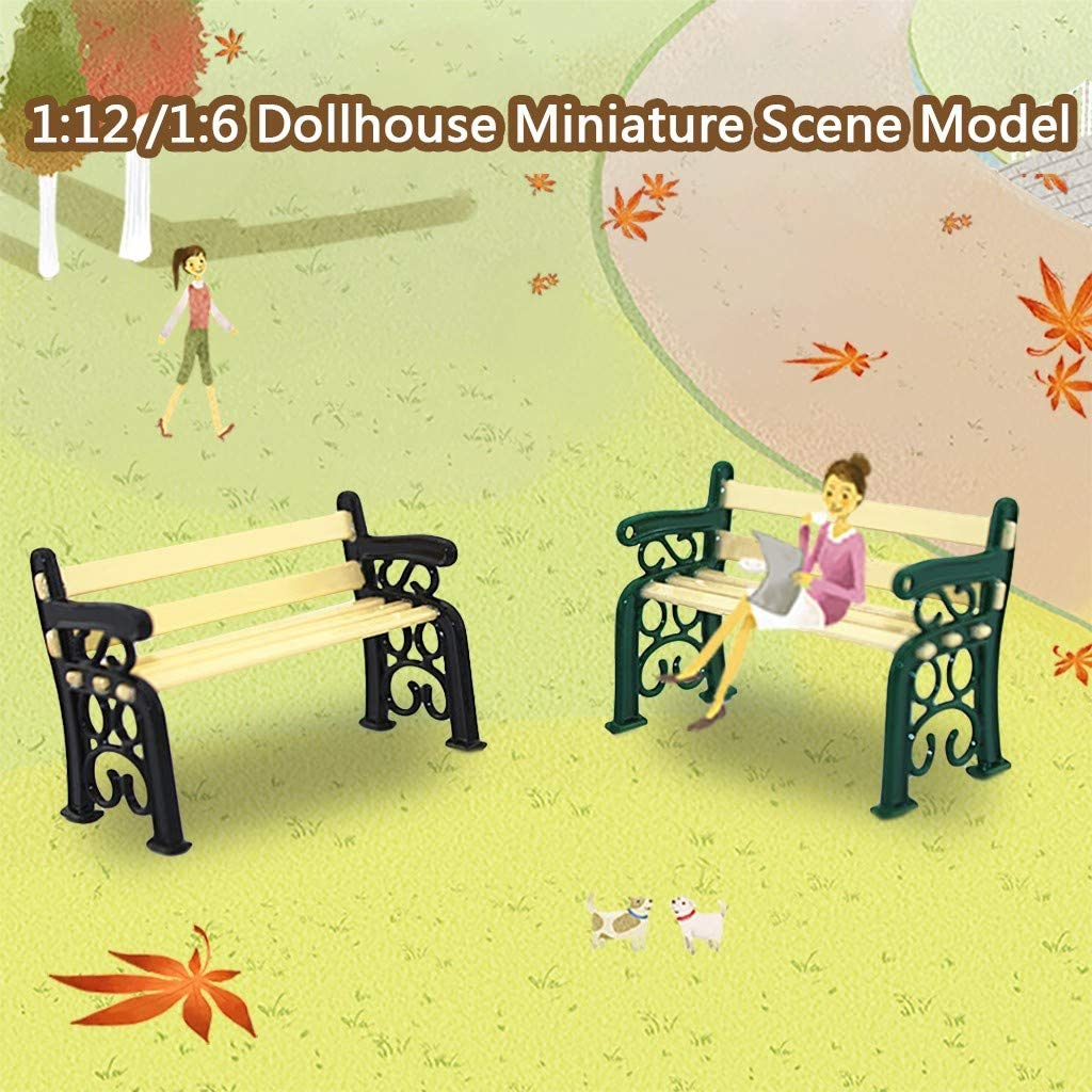 FILOL 1:12 Lovely Dollhouse Furniture Dollhouse Accessories Decor Flatering Paly Things Miniature Toy DIY Ornament Kit for Toddlers Girls Boys Pre-K