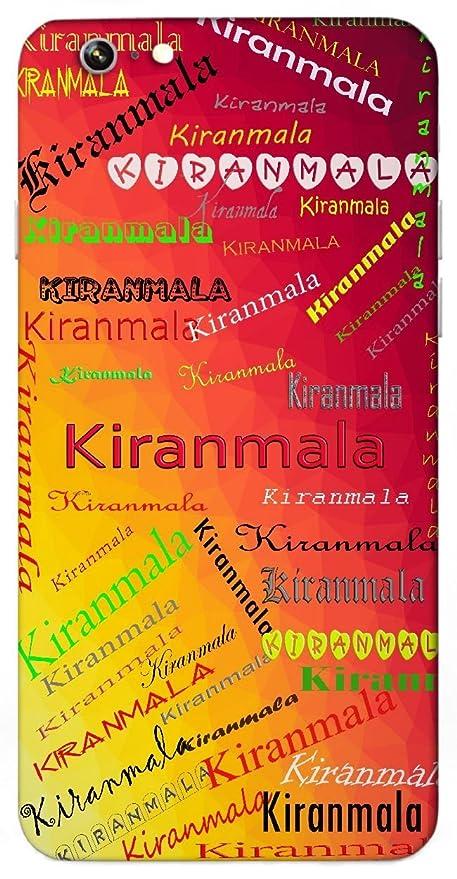 Kiranmala Name & Sign Printed All over customize: Amazon in