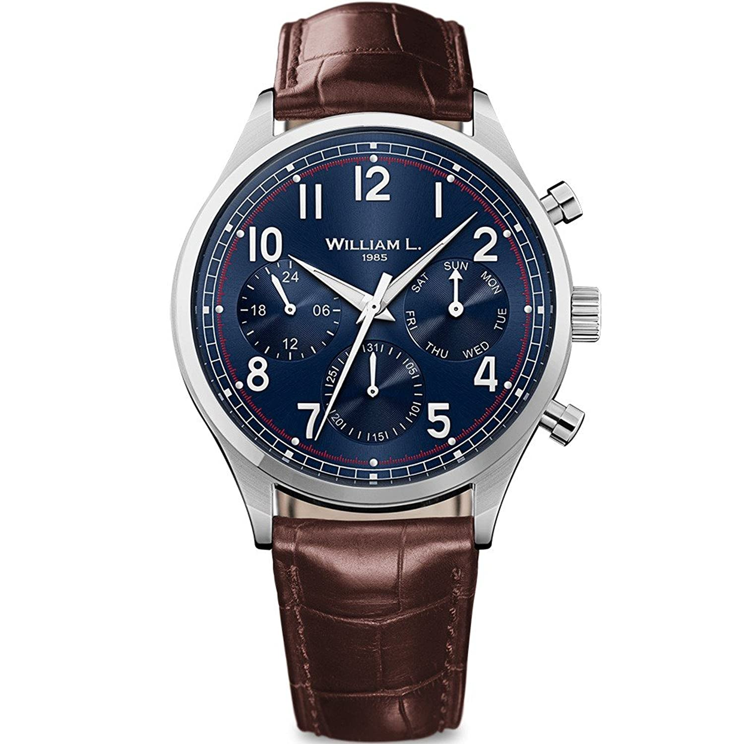 William L. Mens-Armbanduhr WLAC03BUCM