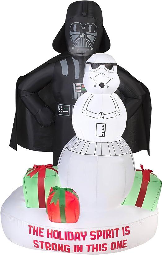 Amazon.com: Gemmy Star Wars Darth Vader y Stormtrooper ...
