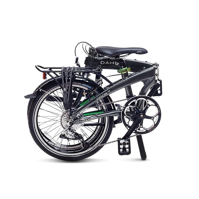 Dahon Vigor D9 Bicicleta Plegable, Unisex Adulto, Negro (inkgot), 20