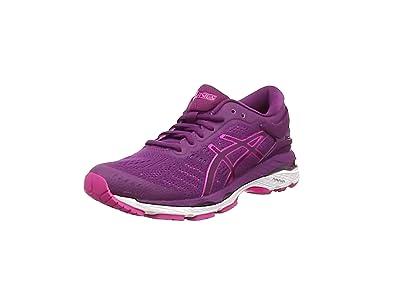 Asics Gel-Kayano 24, Zapatillas de Entrenamiento Mujer, Morado (Prune / Pink Glow / White), 36 EU