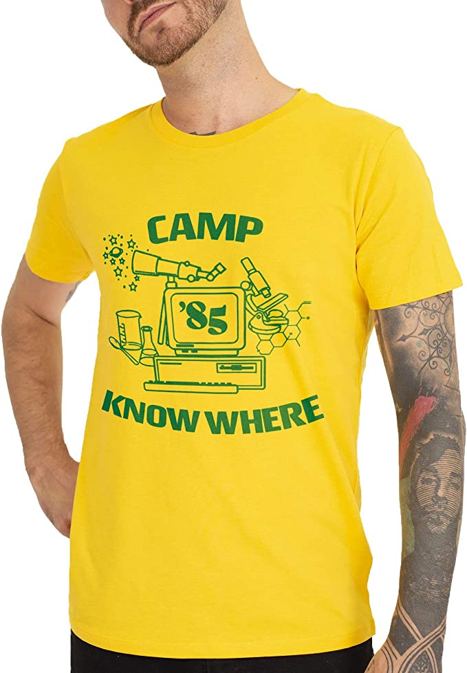 Mush – Camiseta – Stranger Things 3 – Dustin – Camp 85 ...