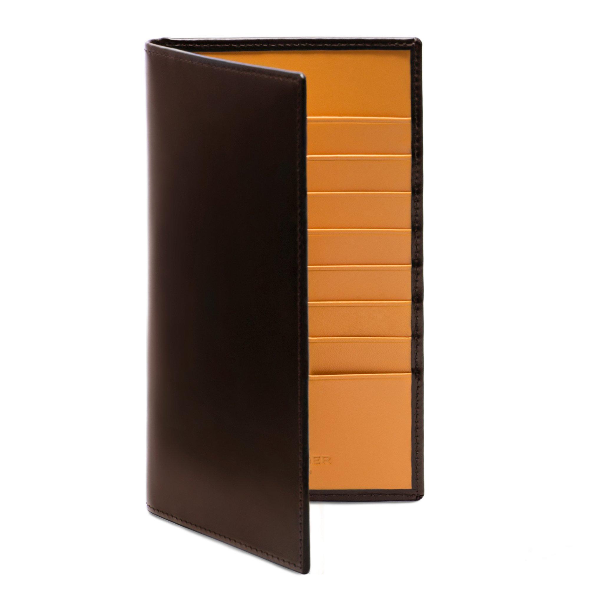 Ettinger Men Leather Coat Wallet Nut Brown/London Tan