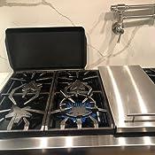 Amazon.com: Soporte para wok de cocina, soporte para estufa ...
