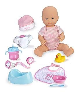 Amazon.es: Nenuco Sara - Muñeca Bebé cuidados 11 funciones ...
