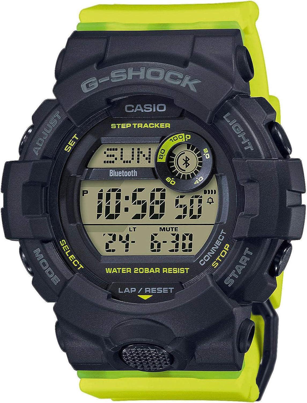 Casio G-Shock G-Squad Fitness Tracker GMD-B800SC-1BER: Amazon.es ...