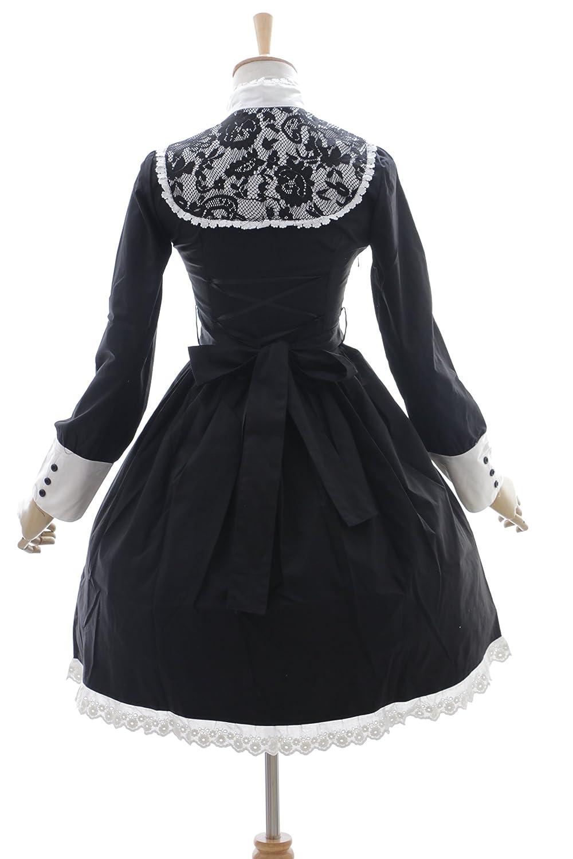 Kawaii-Story de JL 610 Negro Cruz Monja Vampiro Gothic Lolita Vestido Disfraz Dress Cosplay: Amazon.es: Juguetes y juegos