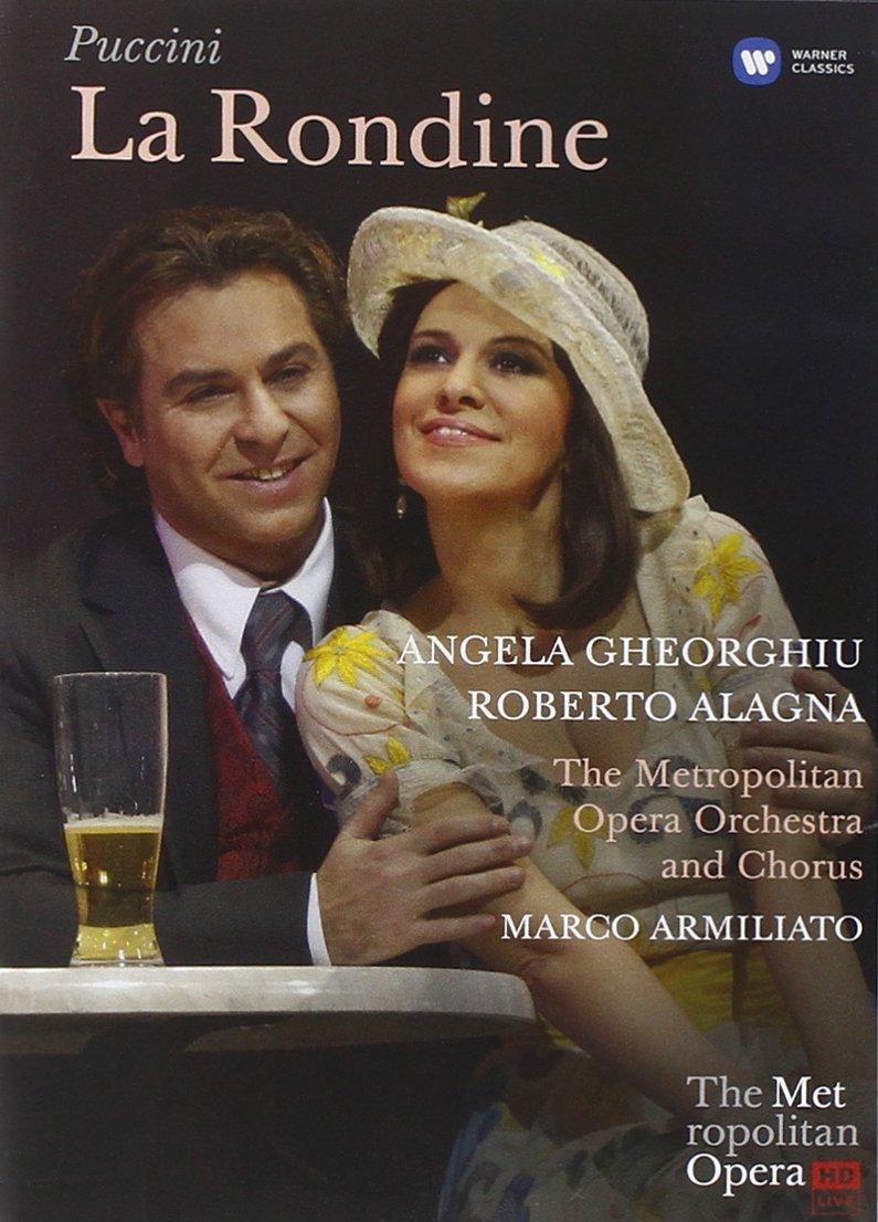 DVD : Alyson Cambridge - Puccini: La Rondine Live From The Met (DVD)