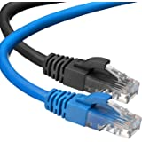 Cat6 Ethernet Cable, 6 ft (2 Pack) LAN, utp (1.8 Meters) Cat 6, RJ45, Network, Patch, Internet Cable - (6 feet)…