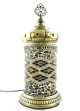 Hecha a mano con motivos orientales Turco mosaico cristal ...