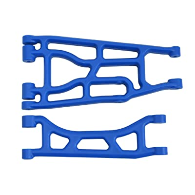 RPM 82355 Traxxas X-Maxx A-Arm, Upper and Lower, Blue: Toys & Games