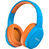 Zamkol Kids Wireless Headphones, Bluetooth 5.0, 40 Hours Playing Time, Portable Foldable Stereo Wireless Headset with Microph