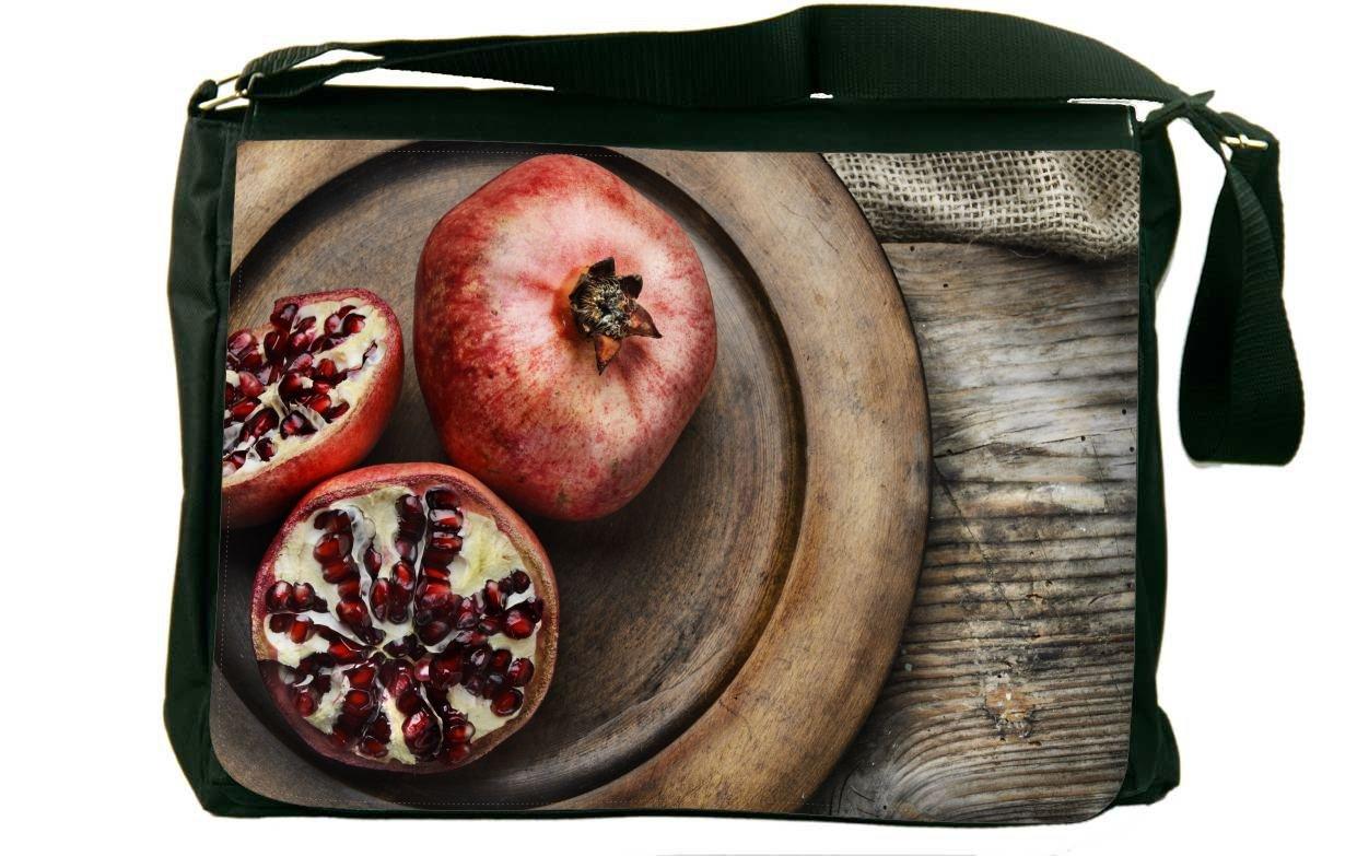 Rikki Knight Pomegranate on table Messenger Bag School Bag