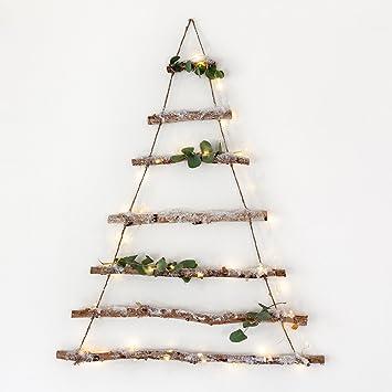 Lights4fun D\u0026eacute;coration arbre de No\u0026euml;l en branches de bouleau, avec  100\u0026nbsp