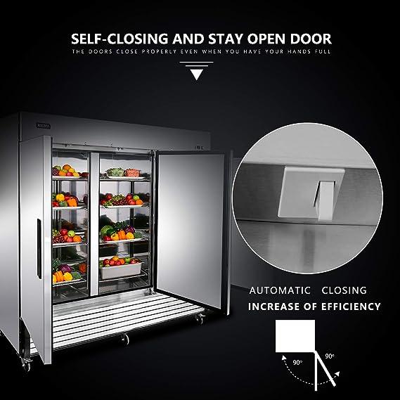 Congelador vertical comercial de 3 puertas - KITMA refrigerador de ...
