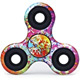 Ansbro Fidget Spinner, Upgraded Hand Spinner, Tri-Spinner Fidget Toy Not 3D-Printed for ADHA, ADD, Autism, and Killing Time