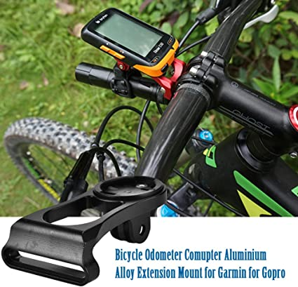 For Garmin Edge Computer GPS Bike Stem Mount Holder-Handlebar-Extension-Extender