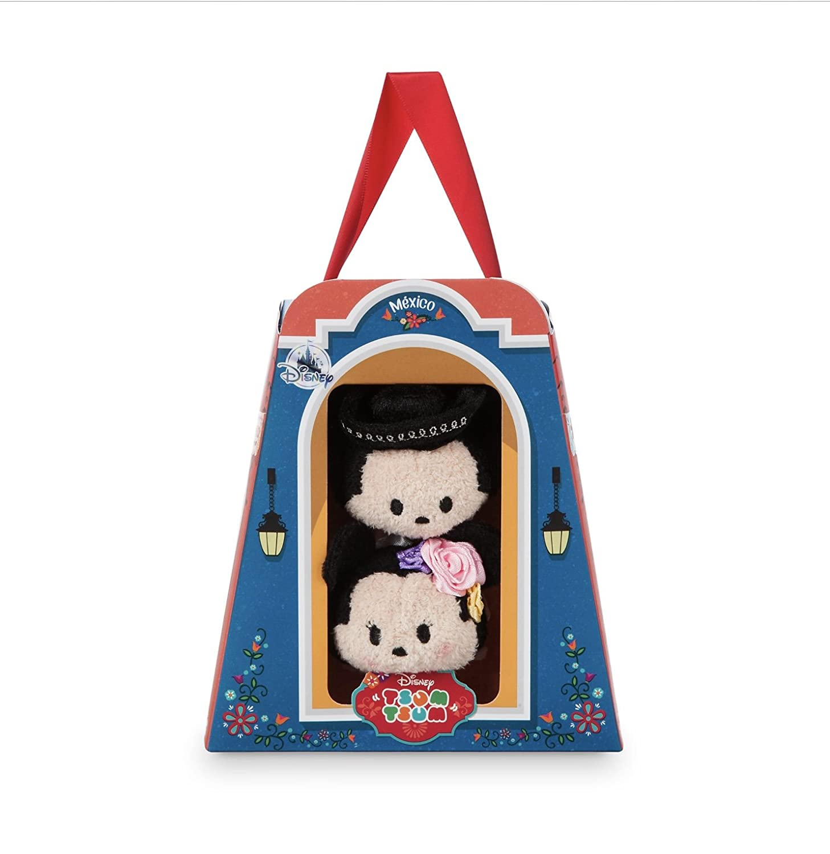 Amazon.com: Disney Store Mini Tsum Tsum Mexico Set Mickey and Minnie ...