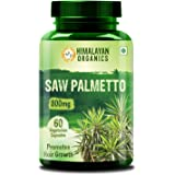 Himalayan Organics Saw Palmetto Extract Capsules for Hair Growth | 800mg | 60 Veg Capsules (1)
