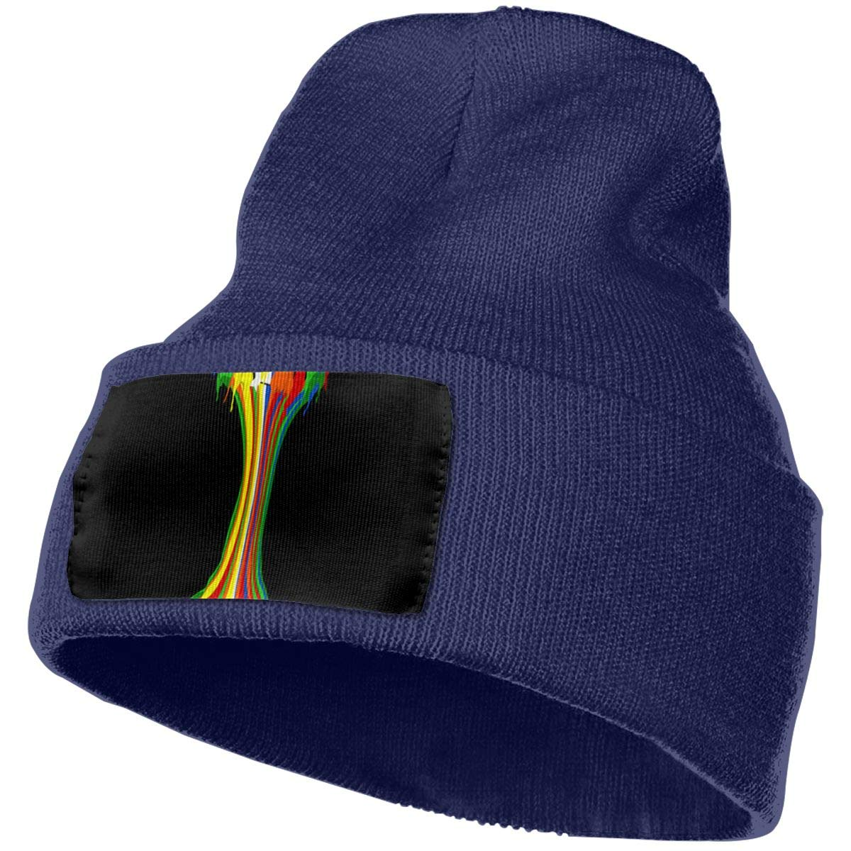 Colorful Drip Rubix Cubes Men /& Women Stretchy Serious Style Beanie Hat Skull Personalized Beanie