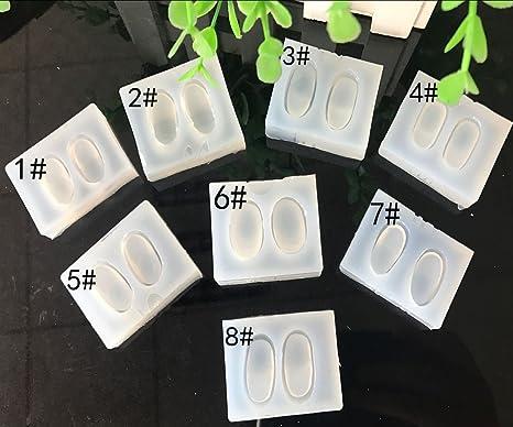 Anqeeso Moldes de resina para moldes de silicona para manualidades