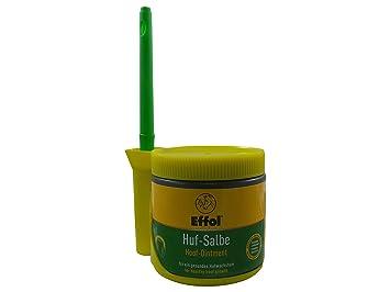Set Effol HUF - Ungüento en amarillo + Effol Pincel - Fix - pomada para cascos