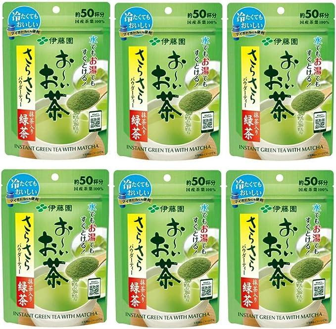 伊藤園 おーいお茶 さらさら抹茶入り緑茶 40g×6袋入