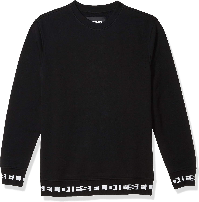 Diesel Mens Umlt-Willy Sweat-Shirt Sweatshirt