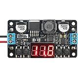 Convertidor de voltaje ajustable, Droking DC-DC 5-32V a 0-30V Módulo regulador de voltaje LCD Tablero de pantalla…