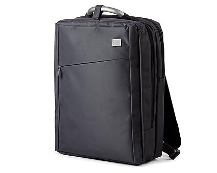 Lexon Airline Double Laptop Backpack BLACK Computer Backpacks  Amazon.co.uk   Kitchen   Home 8adb1731a0675