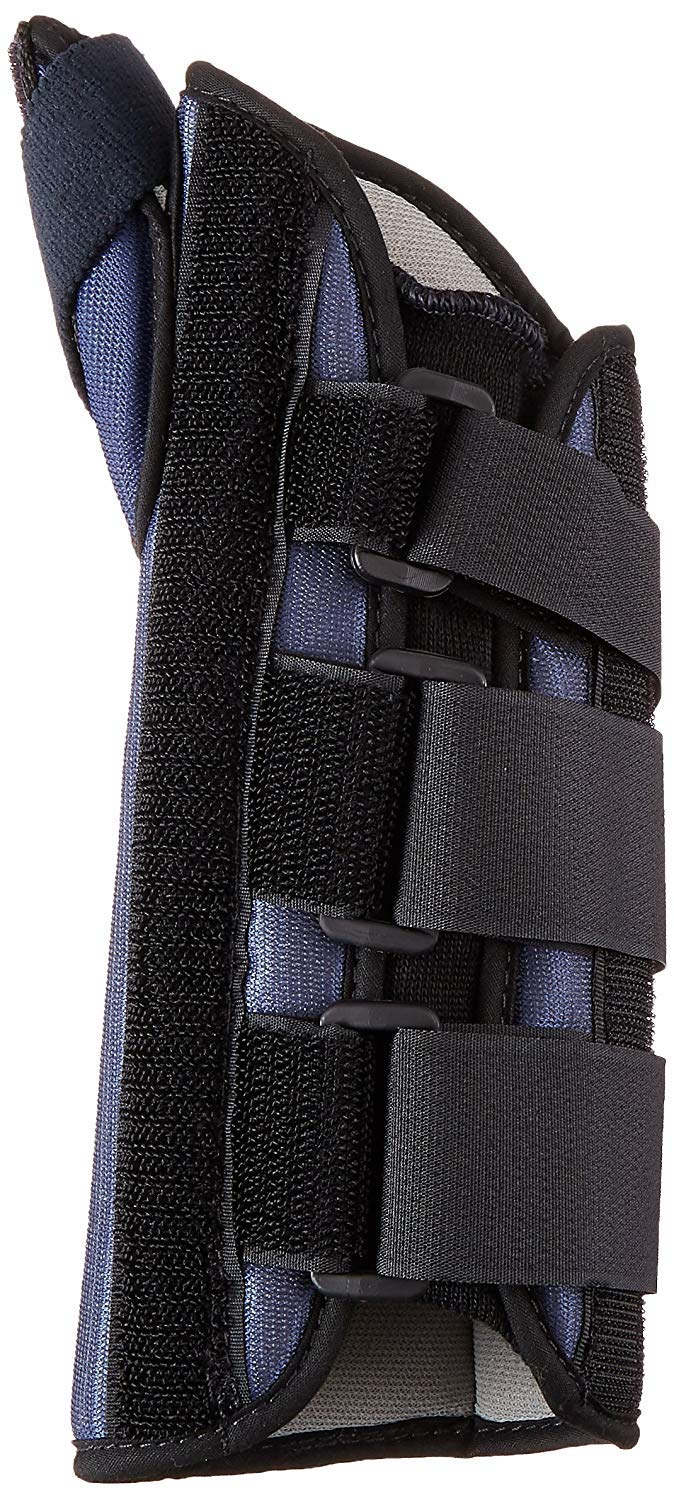 Sammons Preston Thumb Spica Wrist Brace, MC and CMC Joint Support and Stabilizer, Secure Brace and Splint for Thumb with Open Finger, Splint for Recovery, Therapy, Rehabilitation, Right, Medium by Sammons Preston (Image #5)