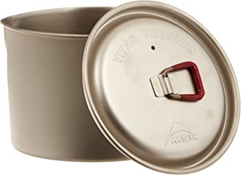 MSR Titan Kettle (Titanium Cookware)