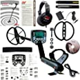 """Minelab E-Trac Metal Detector with 11"""" DD Search Coil and 3 Year Warranty"""