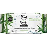 The Cheeky Panda Biodegradable Bamboo Baby Wipes
