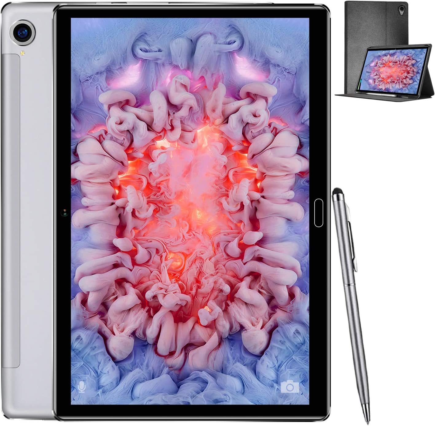 Tablet, Android 10.0 Ten Core High-Performance Processor Tablets 10.8
