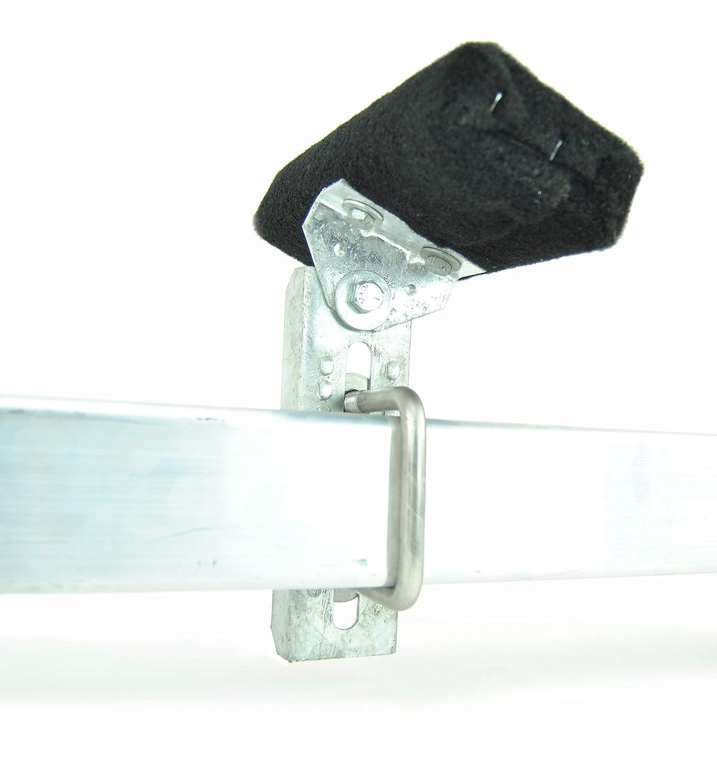 10 Galvanized Swivel Top Bunk Bracket Kit with Hardware for 3x3 Boat Trailer Crossmember 2 Sturdy Built